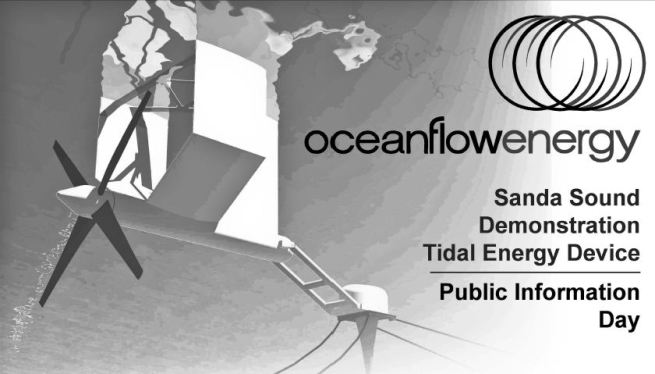 Sanda Sound Tidal Energy Project Public Information Day